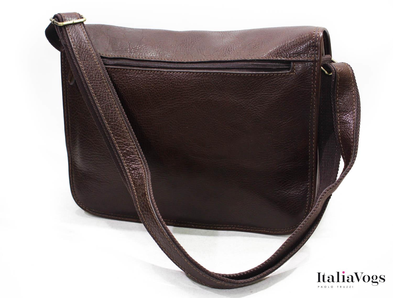 Мужская сумка на плечо из НАТУРАЛЬНОЙ КОЖИ KATANA K36108