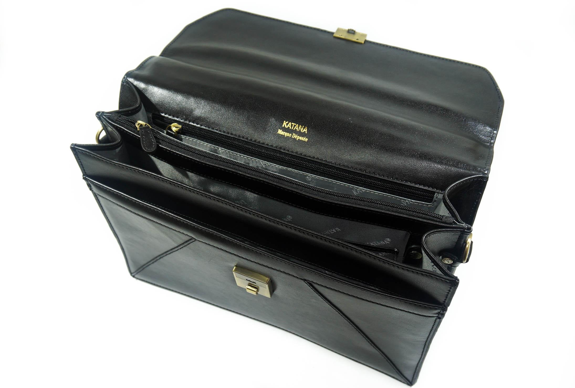 Деловой портфель из НАТУРАЛЬНОЙ КОЖИ KATANA K63060