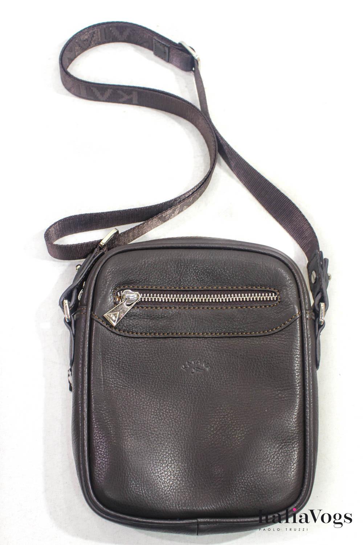 Мужская сумка через плечо из НАТУРАЛЬНОЙ КОЖИ KATANA K89101