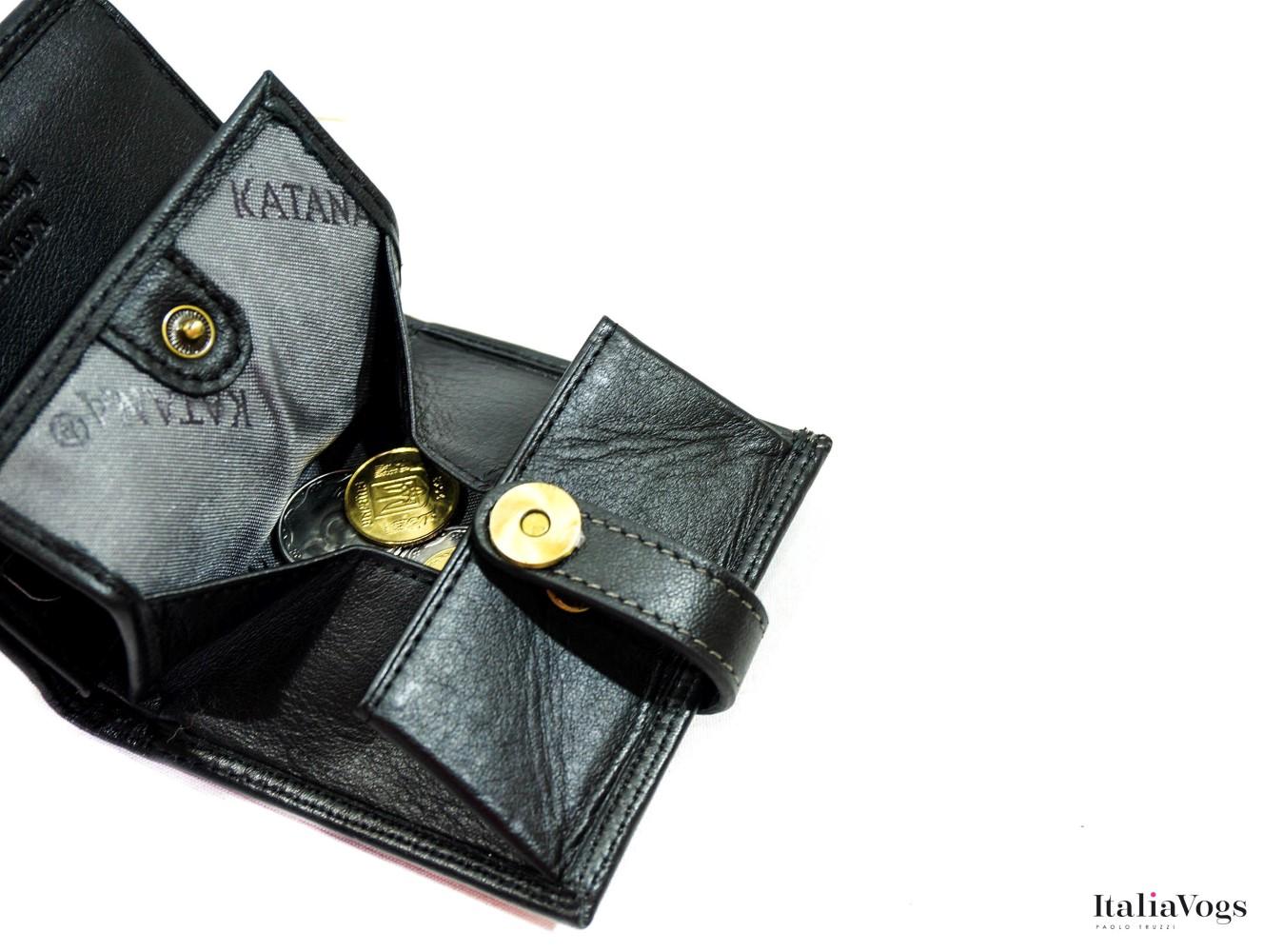 Маленький кошелек из НАТУРАЛЬНОЙ КОЖИ KATANA K753035