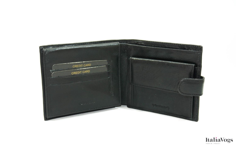 Мужское портмоне из НАТУРАЛЬНОЙ КОЖИ VALENTINI LUXURY Y306298